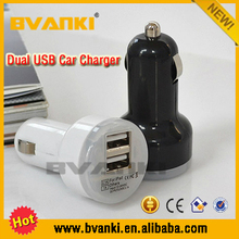 USB Car Charger Adapter 2 Port 2.1A For iPhone, 12v 2.1A car battery charger For Mobile Phone