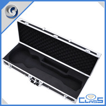 MLDGJ1243 Sturdy portable factory wholesale custom aluminum guitar case