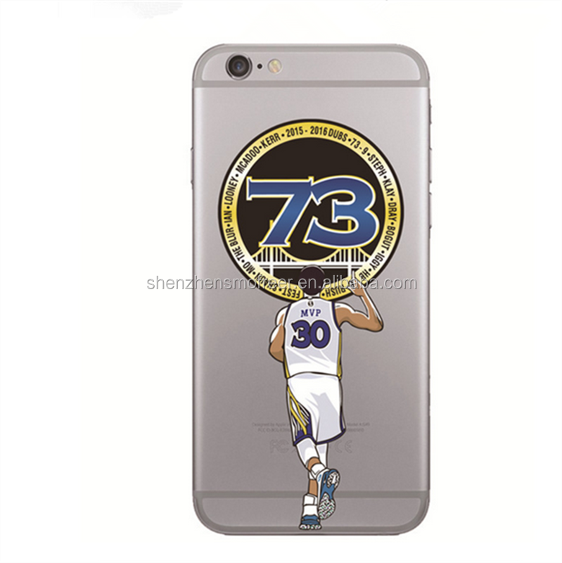 wholesale NBA star phone case tpu phone cover for iphone 7 basketball player phone case