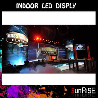 Light Flexible Soft Sealess Shopping Mall P4 Indoor Big Board Advertising Led Display/broadcast P4 Led Video Display Board
