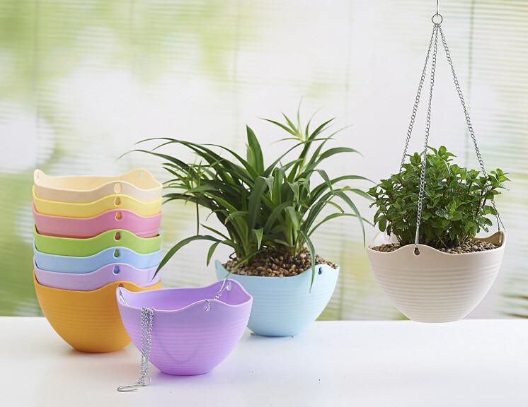 Flower Pot/hanging Flower Pot/sky Planter - Buy Hanging Flower Pot ...