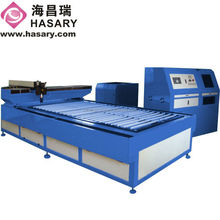 Large metal sheet laser cutting machine price with YAG lazer