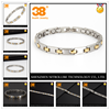 Energy healthy bracelet jewelry magnetic stainless steel natural charm bracelet jewelry supplies