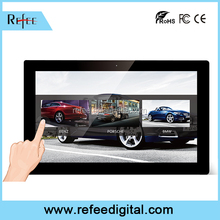 WIFI lcd touch screen monitor, Horizontal LCD digital shopping mall advertising, Interactive kiosk