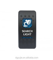 Hot! Search lights Rocker Switch & Blue lighted rocker switch