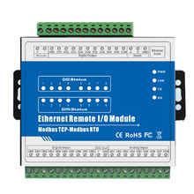 Ethernet data acquisition module for Modbus RTU meters