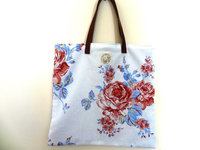 Wholesale Folding Rose Shopping Bag Woman Shopping Bag