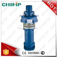 CHIMP Chinese manufacture QY series QY25-26-3 cast iron oil-immersed oil filled borehole centrifugal submersible water pump