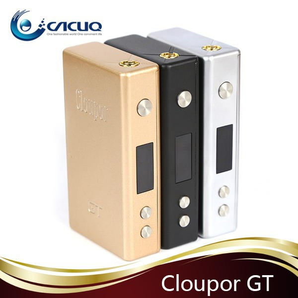 New Coming!!!2015 Newest e-cig products super energy saving cloupor gt 80w mod/cloupor gt box mod/cloupor gt