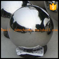 custom large metal sphere 500mm-2000mm big size stainless steel hollow ball