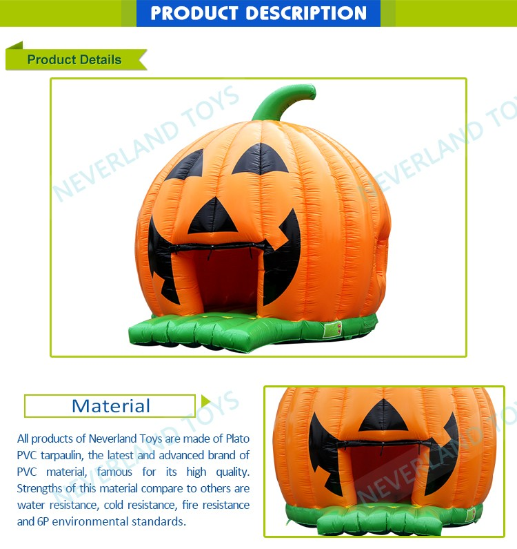 Decorations Arches Costumes Adults Skeleton Giant Decoration Pumpkin Bounce Haunted House Inflatable Halloween Maze For Sale