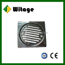 china High-grade Stainless Steel square Garage Floor Drain Plumbing Drainage.