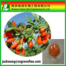 High quality 100% organic Wolfberry Extract/Goji berry Extract Powder
