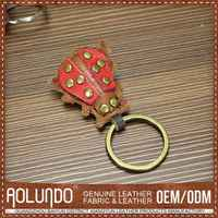 High Quality Latest Designs Leather Key Ring Loop
