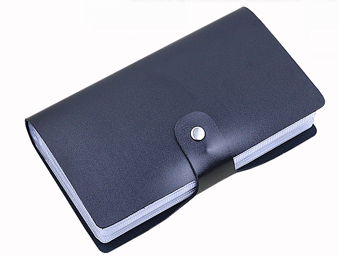 Cheap price soft cover custom leather business card holder