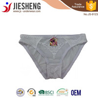 Sexy hot selling hipster, Chinese new design panty ,JS-9123Accept OEM