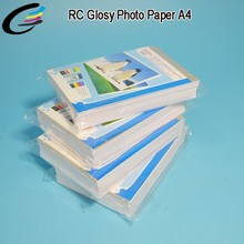 Cheap Price A4 Size Inkjet Glossy Photo Paper for Picture Printing Paper