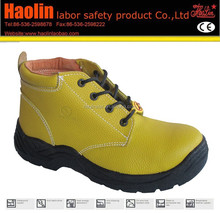 yellow gasoline industry safety shoes HL-A038