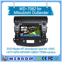 Factory price car dvd gps radio 3g for Mitsubishi outlander 2006 2007 2008 2009 2010 2011with gps navigation car auto audio wifi