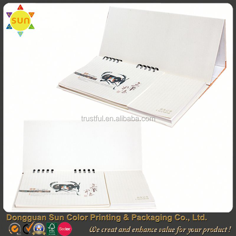 islamic calendar 2016 calendar printing/2016 customized calendar printing/cheap wall calendar printing