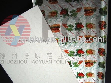 composited aluminum foil packing paper