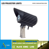 YJX-0033 IP65 PF0.9 RGB high power 15W wall spot projector LED Outdoor Lights