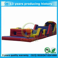 outdoor fun inflatable obstacle sports games