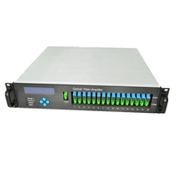 1550Nm Catv 1550 Edfa 16 port 23 dbm WDM Optical Amplifier