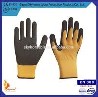 Latex Crinkle Better Grip Rigger Gloves With 10G T/C Shell