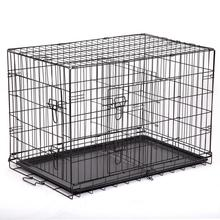 Wholesale High Quality Two Door Dog Crate Various of Size Metal Dog Pet Cage