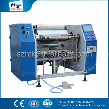 China products high quality Plastic Packaging Machines film slitting rewinding machine