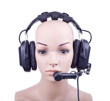 2015 Hot Selling New Update Noise Cancellating dual ear Stage camera man director special intercom headset