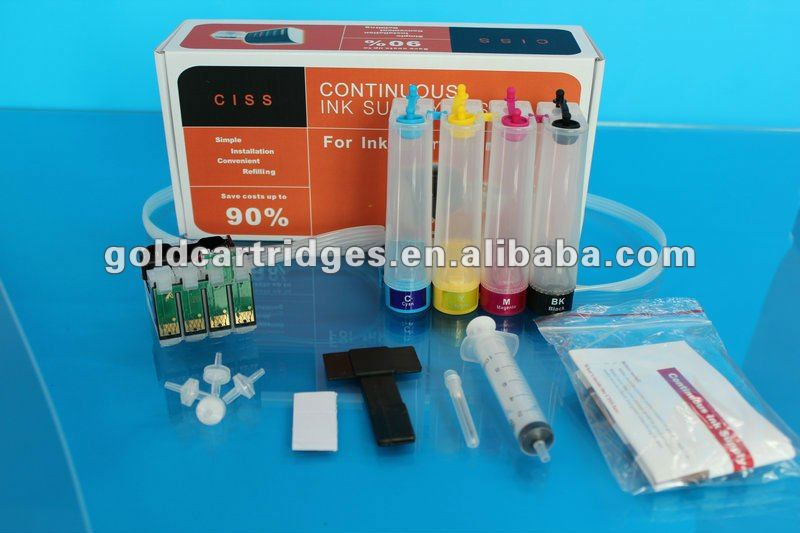 CISS with Apex chips for Epson NX130/127/125 etc desktop printers