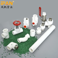 Wholesale White Color PPR Names Pipe Fittings Pipe Price Plumbing Fittings Names and Pictures PDF PPR Pipe Fitting