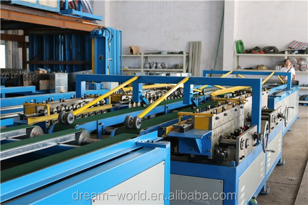 rectangular smart line / automatic system for ducting fabrication
