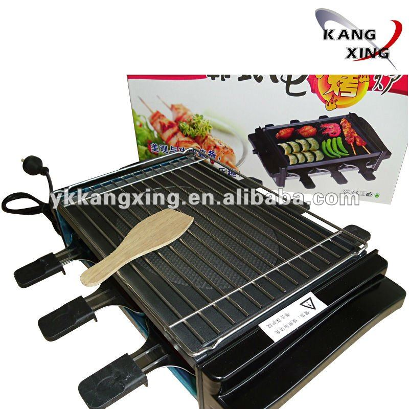 Commercial electric bbq griller