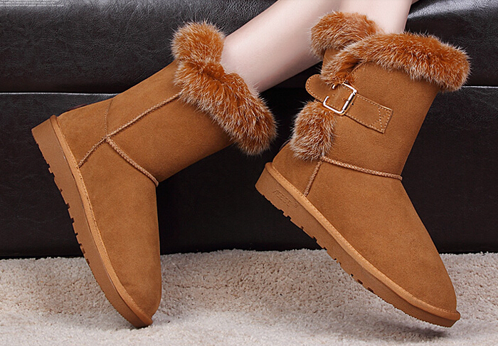 Newest women snow boots cheap lady winter boots high quality 2017