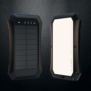 2018new Mini Power bank custom made Logo 8000mah10000mah Solar Power Bank With Led Lcd Light Digital Display ,