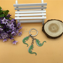 lizard Metal charm keychain for gifts , souvenirs