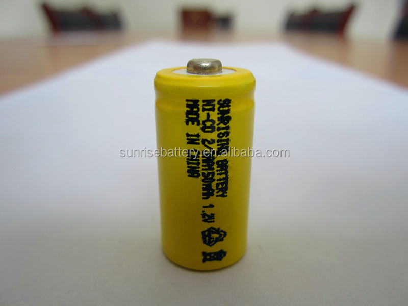 2/3AA Ni-Cd 1.2V 2/3AA rechargeable battery NiCd Batteries 150 mah