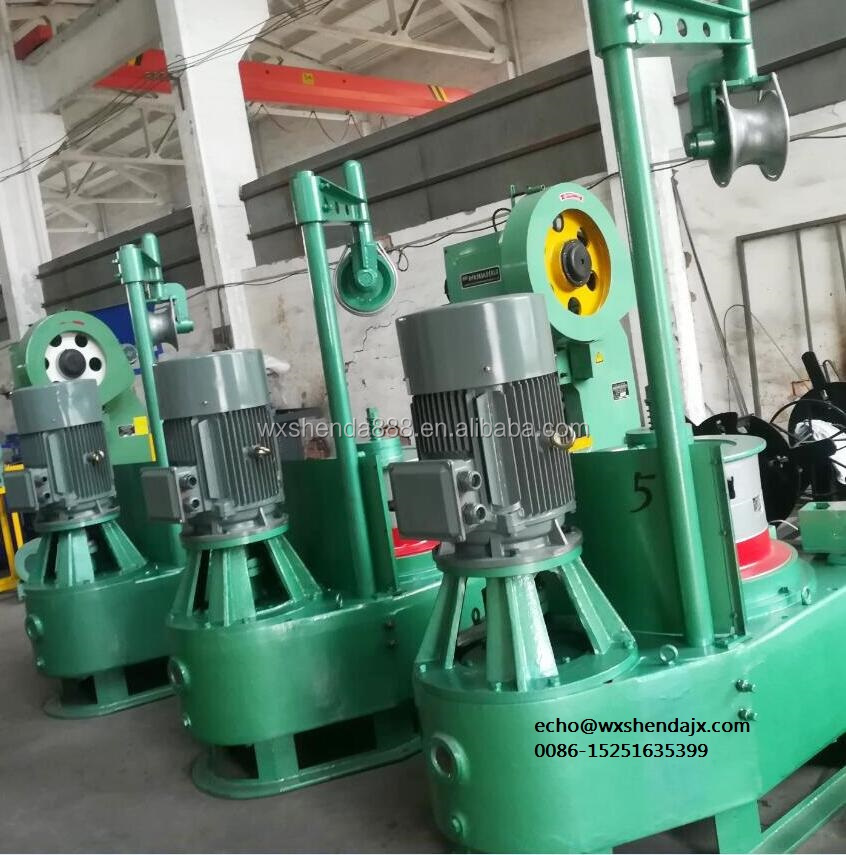 Wuxi Shenda Pulley Type Fine Nail Wire Drawing Machine for High/Middle/Low Carbon Steel