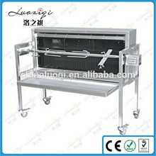 Lamb/ Pig BBQ Grill ,Stainless Steel Charcoal BBQ with Motor Grill