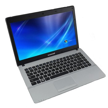 Best price 14 inch i7 3.6 GHz dual core 8G Ram 750G HDD with DVD RW laptop computers