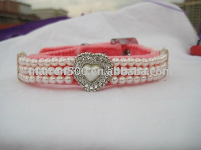 China wholesale rhinestone dog collar pet collar cat collar for latest product