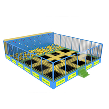 China high quality kids indoor trampoline bed jumping