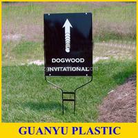 Auti UV Coroplast Corrugated Plastic Yard Signs