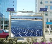 Solar LED advertising and electronic media PCBA module Design Consultant Engagement