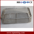 Medical Sterilization Stainless Steel Wire Mesh Tray And Basket