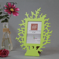 Laser cut love style wooden picture frame timber