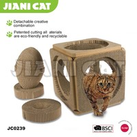 Can be combined cardboard cat scratcher,cat toy